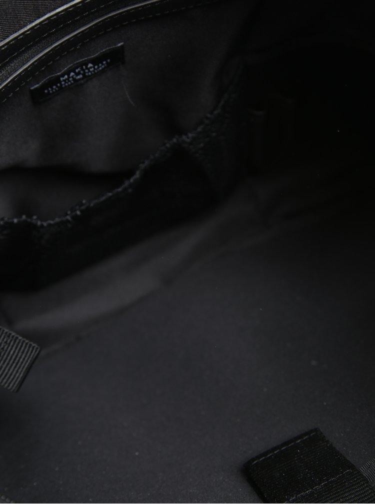 Geanta pentru laptop 15'' neagra cu detalii din piele Makia Brief