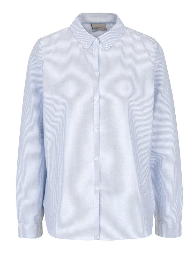 Modro-bílá pruhovaná košile košile VERO MODA Katie