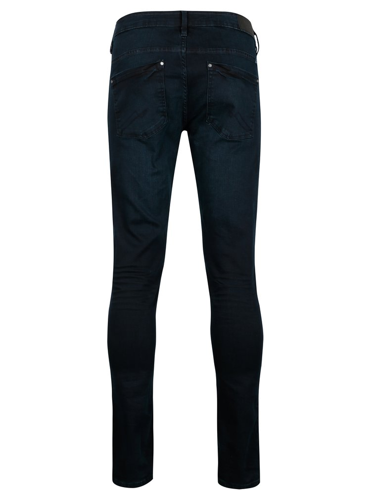 Tmavě modré skinny džíny Blend