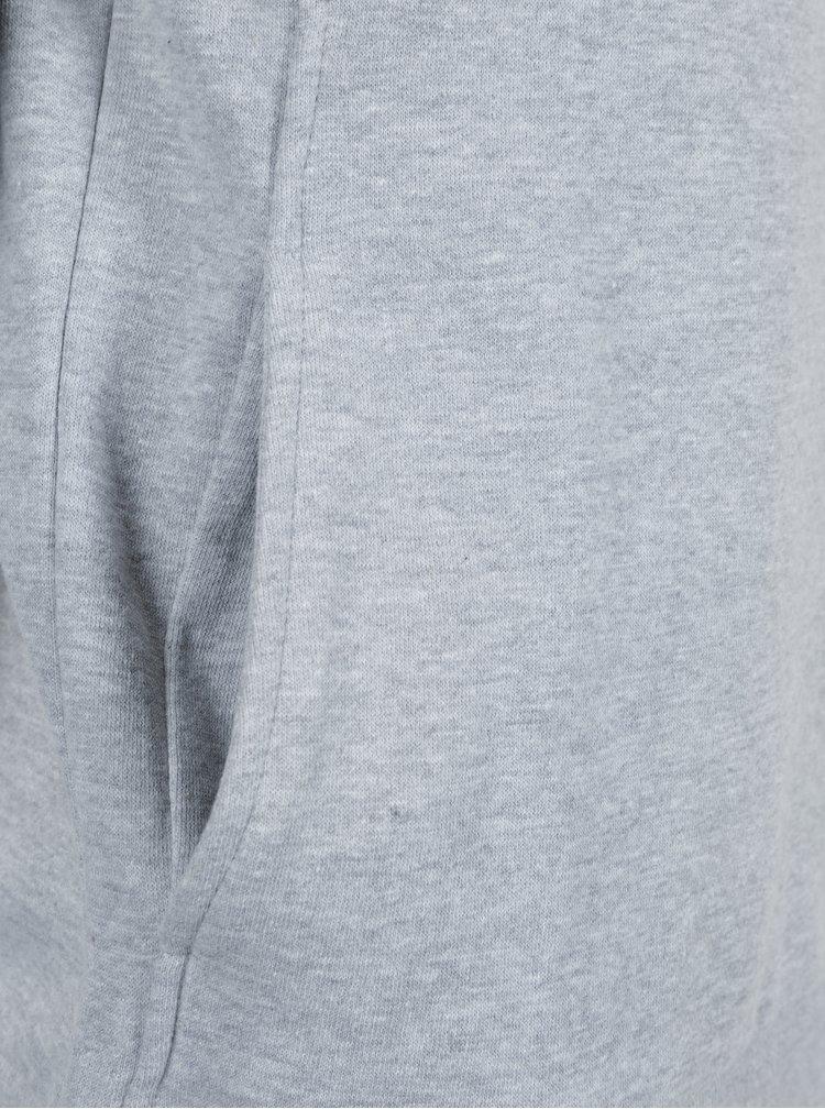 Černo-šedá slim fit mikina Blend