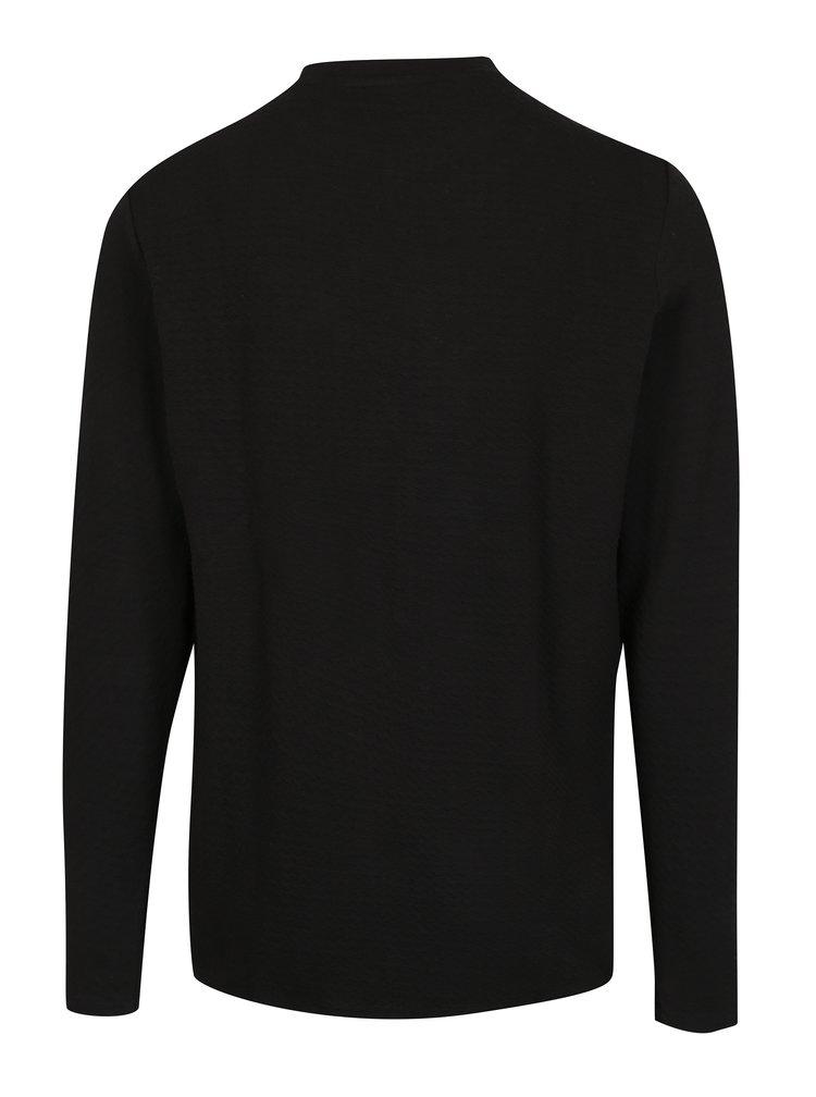 Černá pánská mikina s náprsní kapsou Casual Friday by Blend