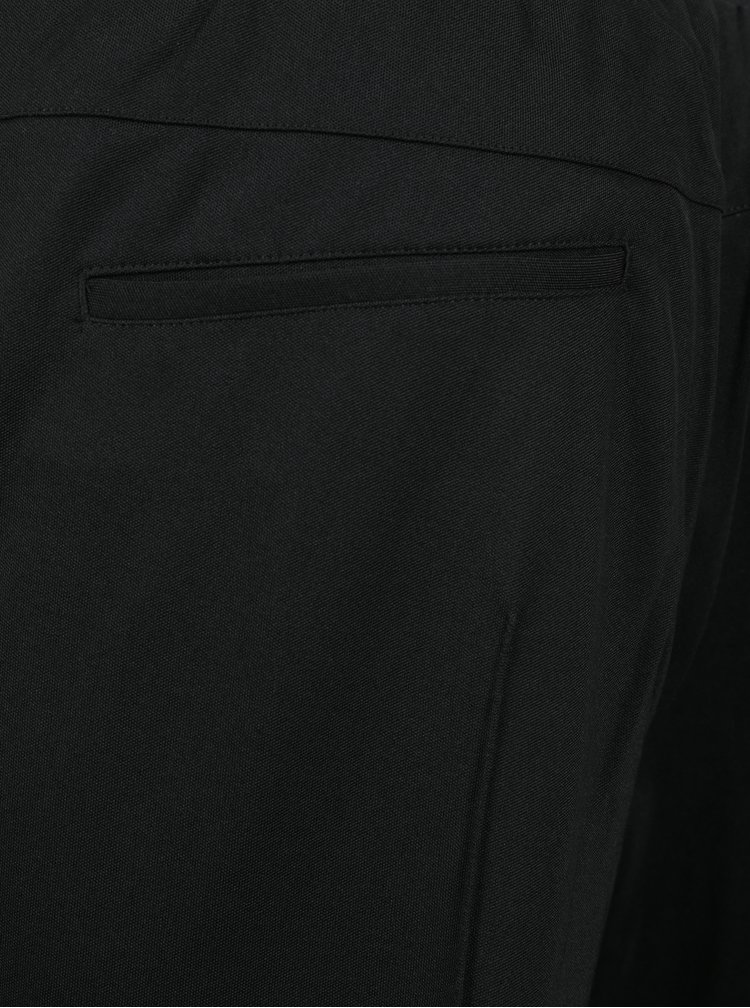 Pantaloni sport negri cu dungi laterale Casual Friday by Blend