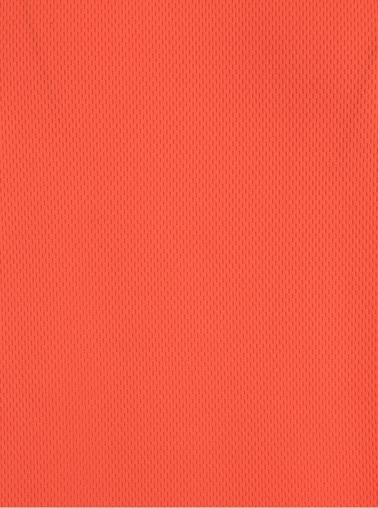 Tricou slim fit portocaliu neon cu decupaj Blend
