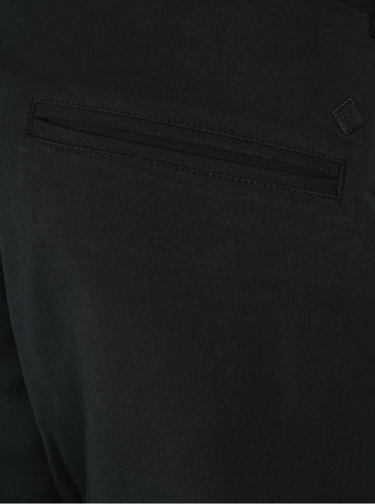Pantaloni slim fit negri Casual Friday by Blend