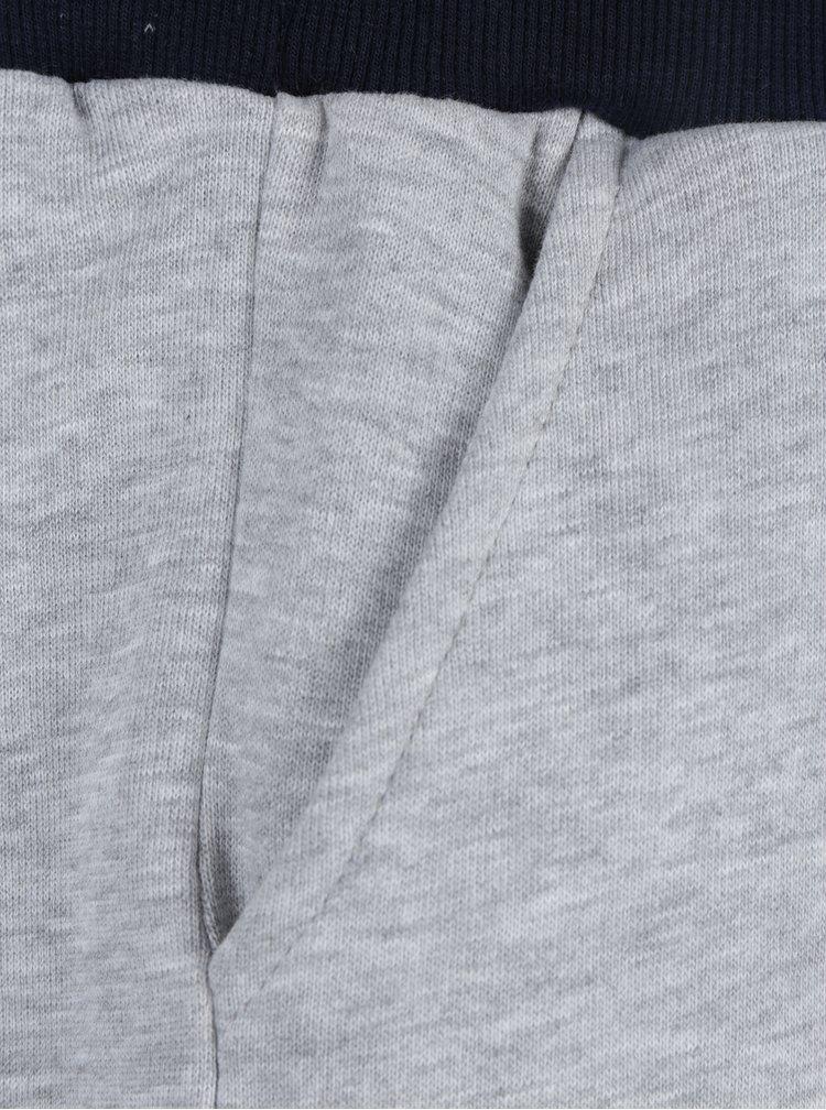Modro-šedý set klučičích kraťasů a tepláků Mix´n Match