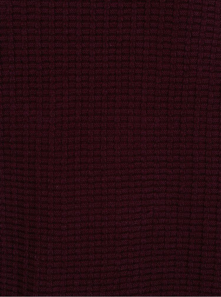 Vínový svetr Burton Menswear London