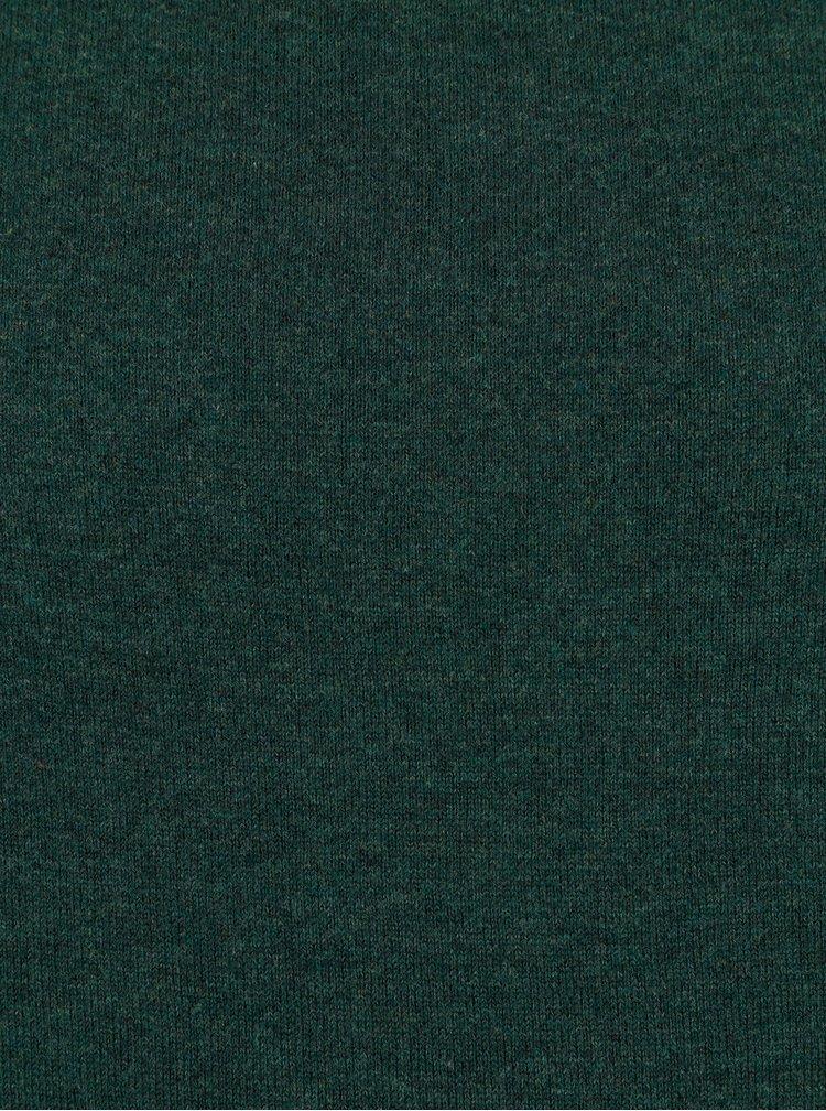 Tmavě zelený svetr Burton Menswear London