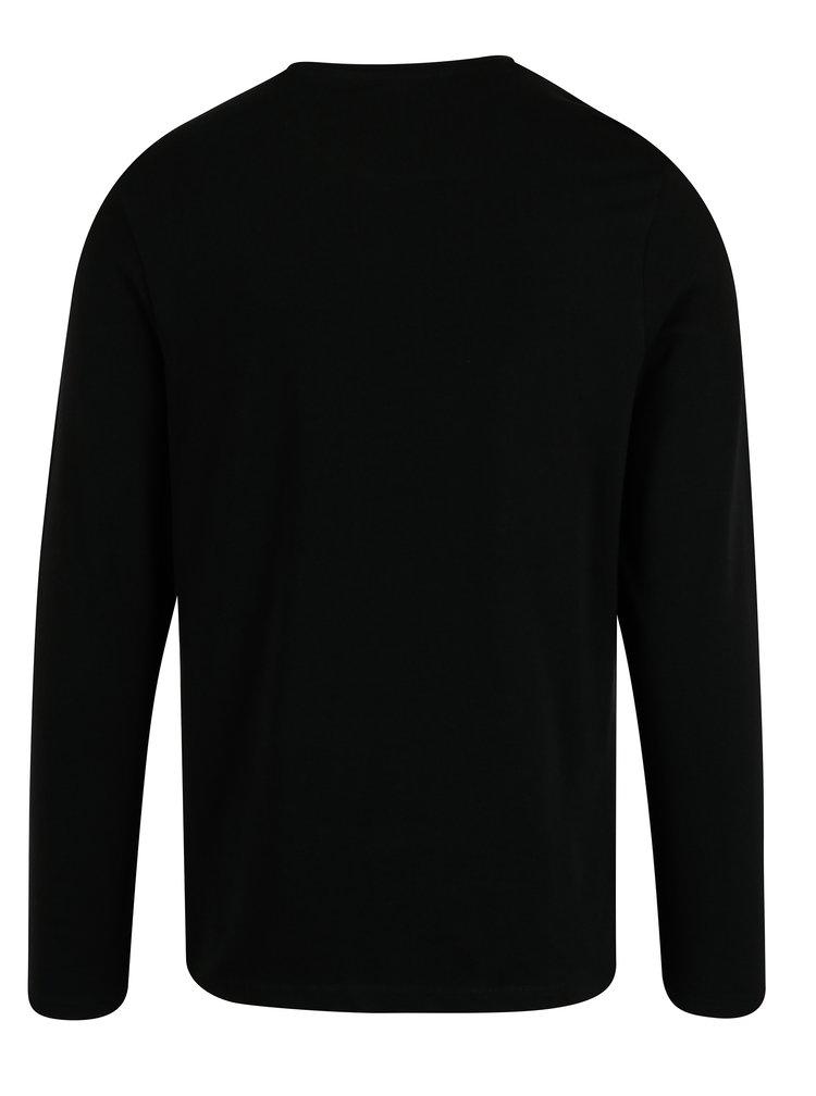 Bluza lejera basic neagra  - Burton Menswear London