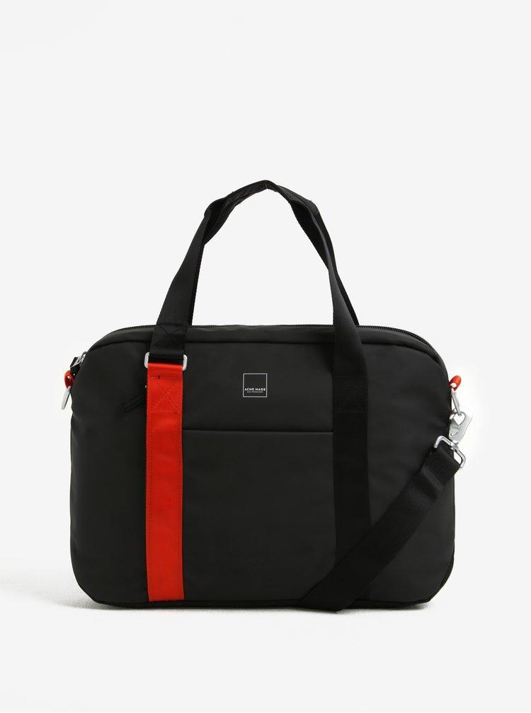 Černá taška na notebook Acme Made North Point Attaché