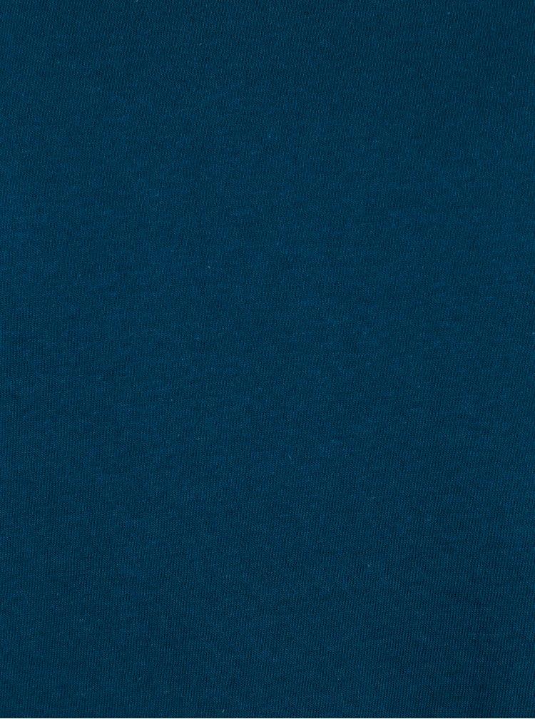 Bluza basic albastra regular fit pentru barbati - Burton Menswear London