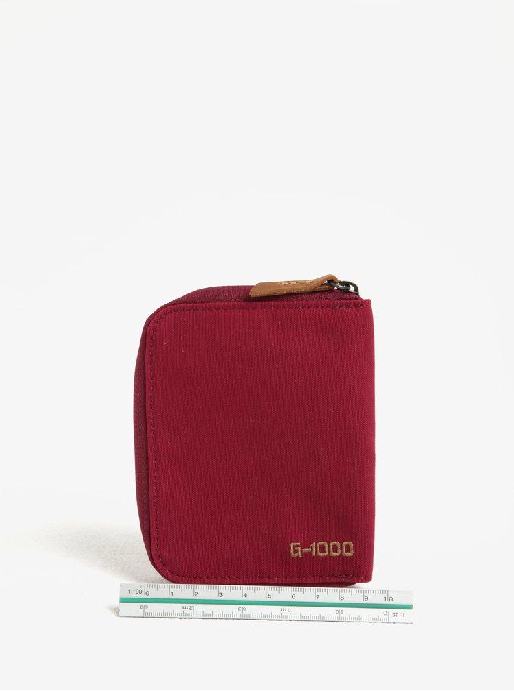 Tmavě růžová peněženka Fjällräven