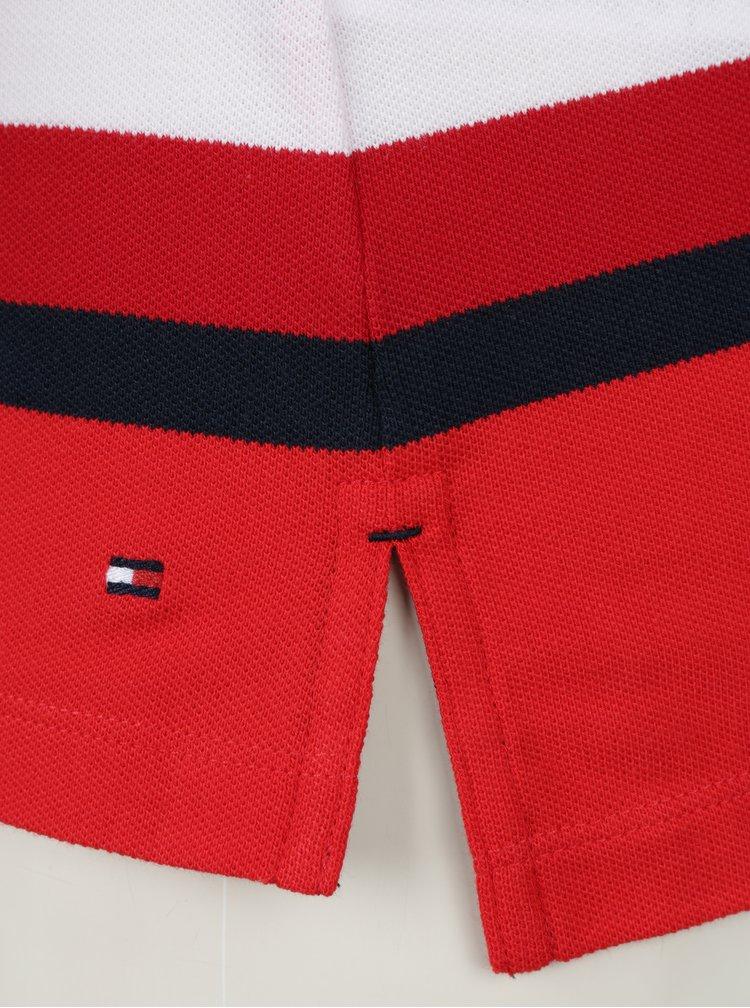 Červené dámské polo tričko Tommy Hilfiger