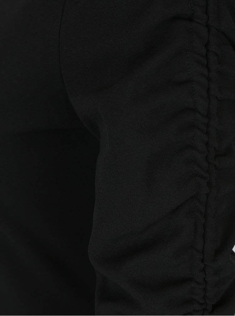 Černé pouzdrové šaty s 3/4 rukávy Dorothy Perkins
