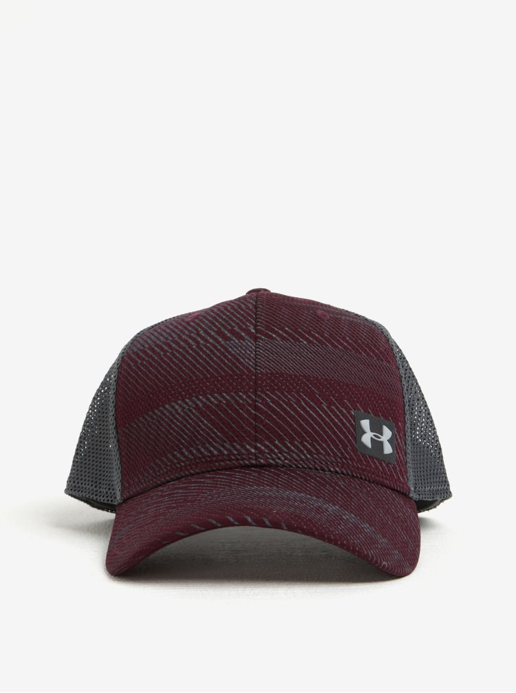 Sapca bordo & gri Under Armour Blitz Trucker