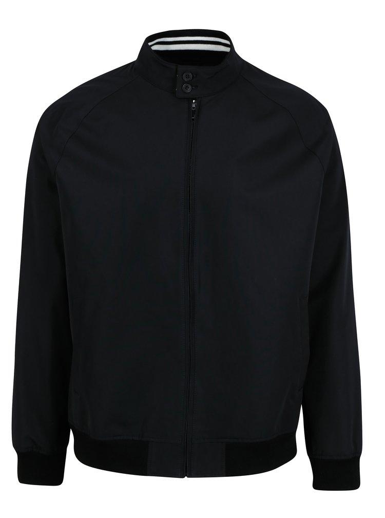 Černá bunda s kapsami Burton Menswear London
