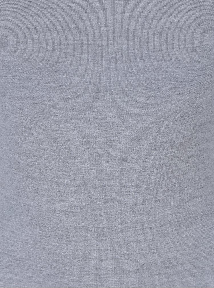 Světle šedé žíhané body Miss Selfridge