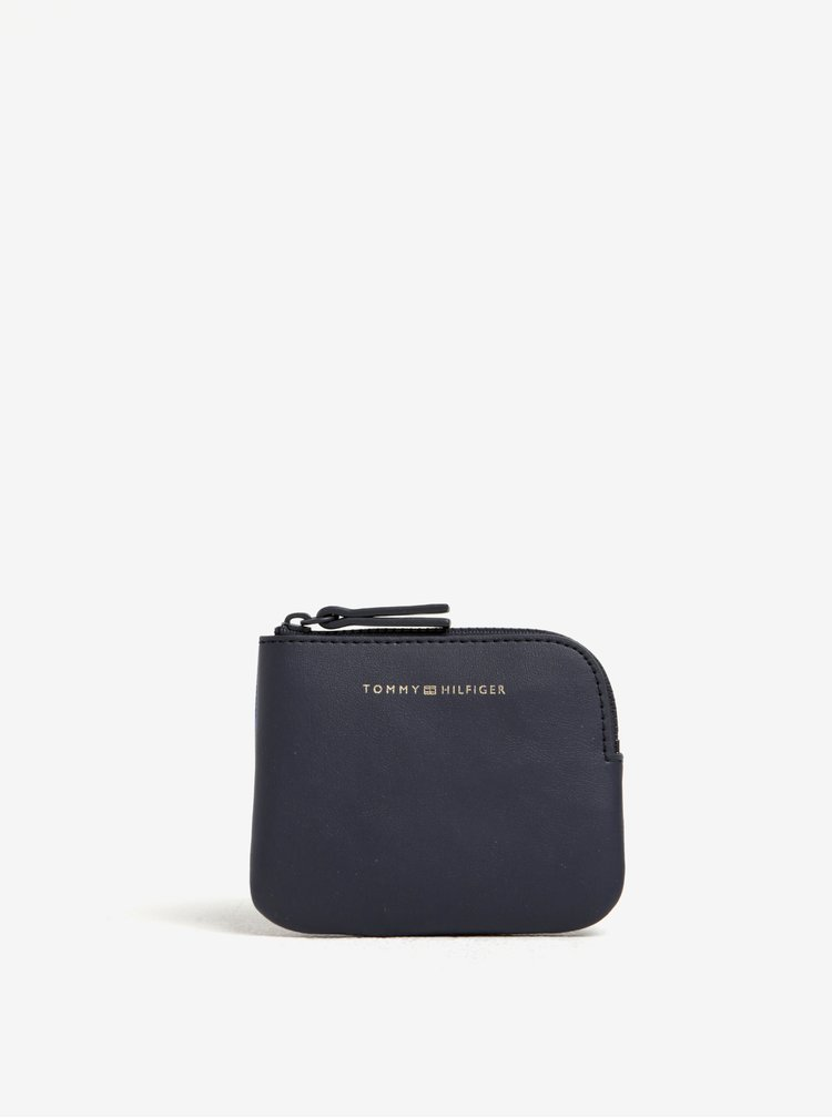 Modrá dámská kostkovaná kosmetická taštička 3v1 Tommy Hilfiger