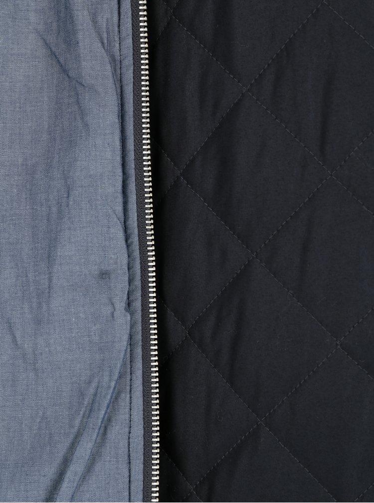 Černá pánská prošívaná bunda Makia Quilted