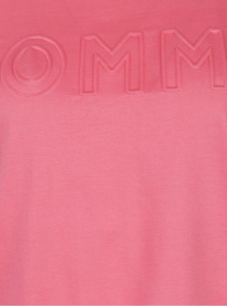 Růžové dámské tričko Tommy Hilfiger
