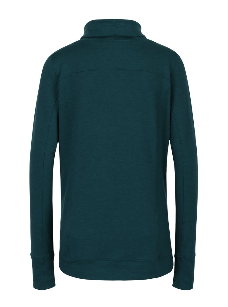 Bluza sport verde inchis pentru femei Under Armour  Featherweight