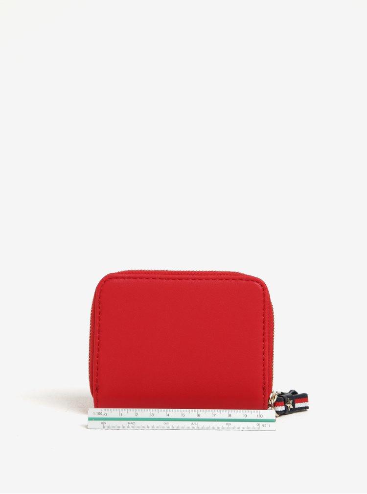 Červená dámska peňaženka Tommy Hilfiger