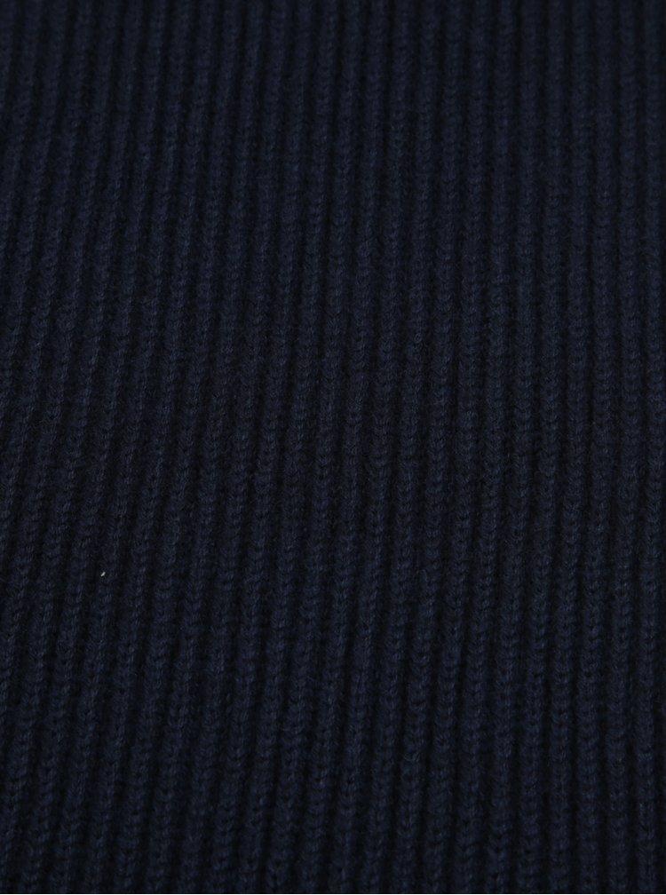 Tmavě modrá pánská šála Tommy Hilfiger