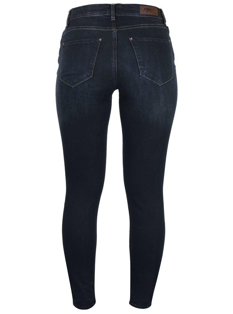 Tmavě modré skinny fit džíny ONLY Shape