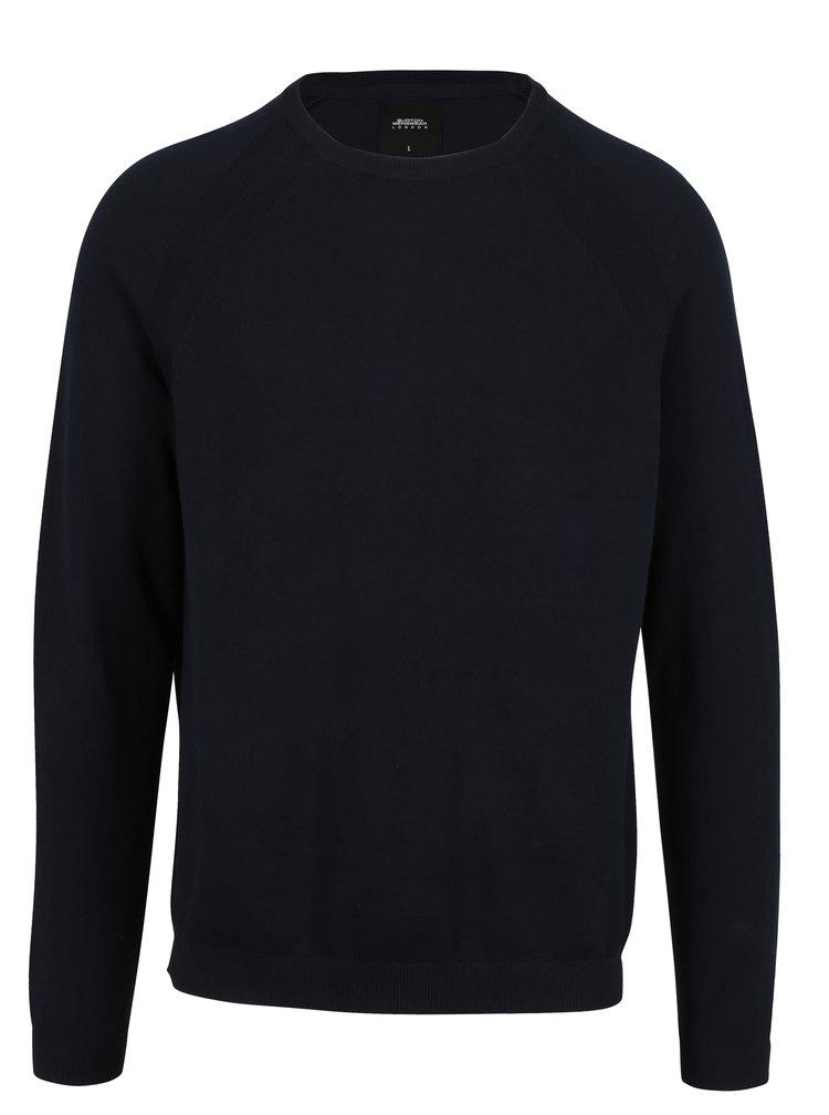 Pulover barbatesc bleumarin - Burton Menswear London