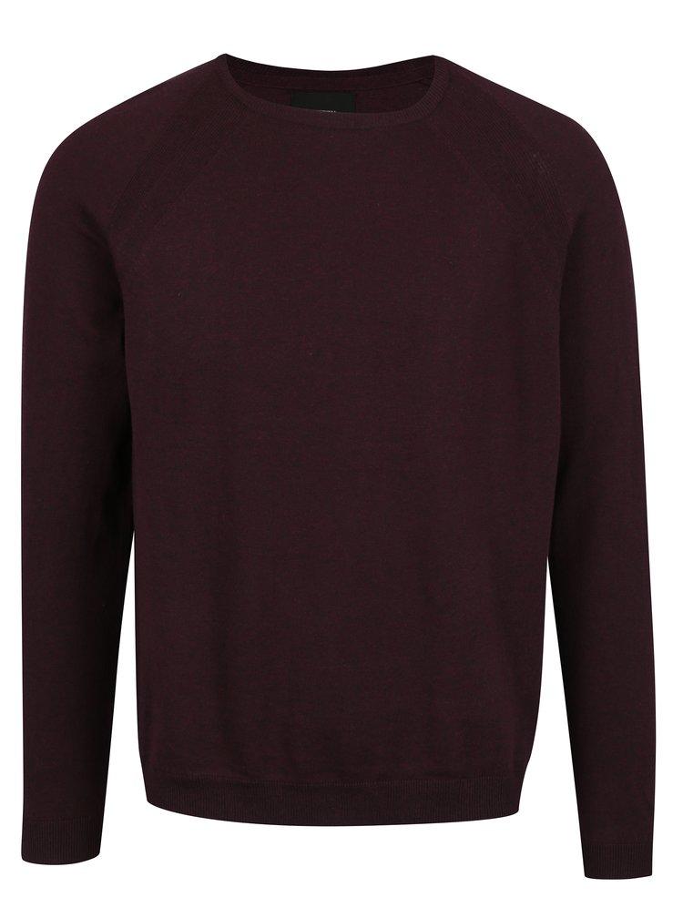 Pulover bordo pentru barbati -  Burton Menswear London