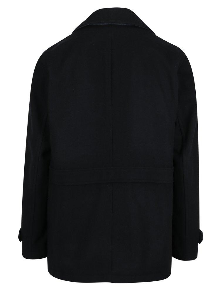 Palton barbatesc bleumarin pentru iarna -Burton Menswear London