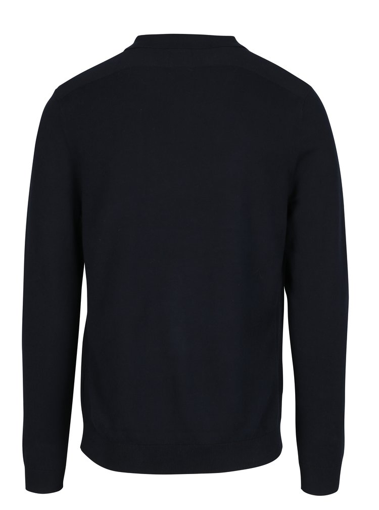 Pulover polo bleumarin pentru barbati - Burton Menswear London