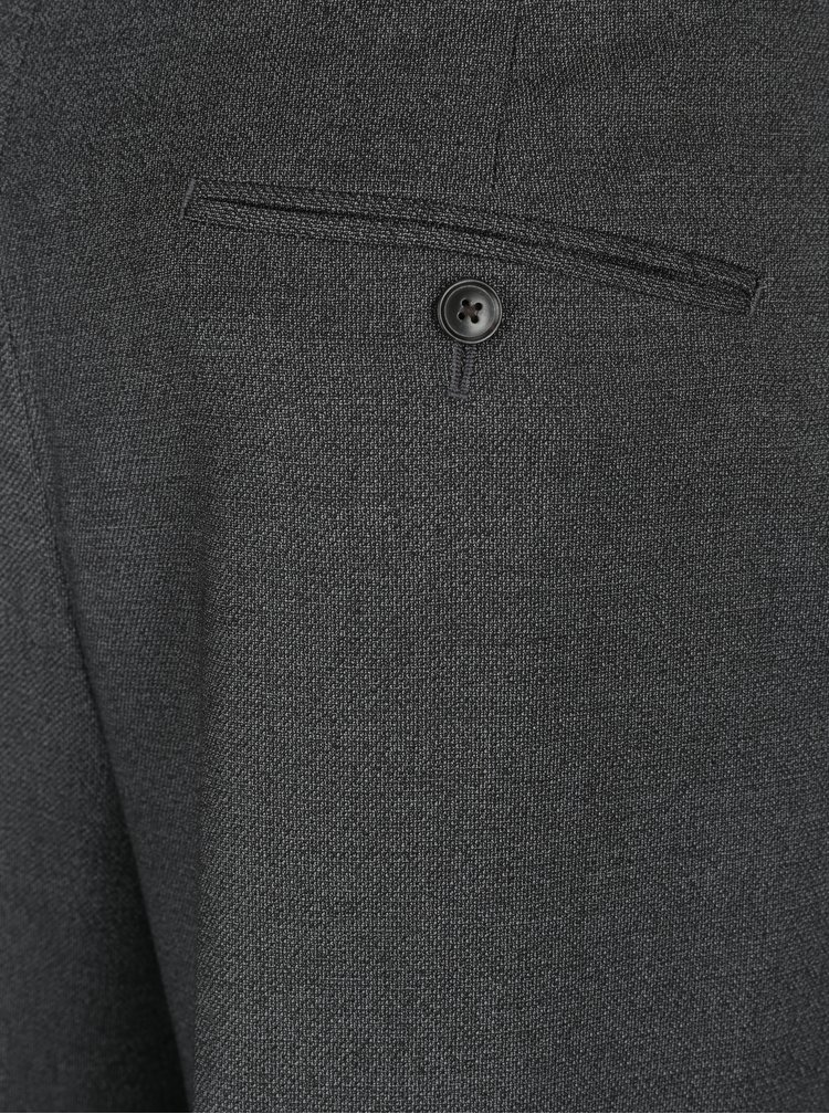 Pantaloni skinny gri pentru costum barbatesc -  Burton Menswear London