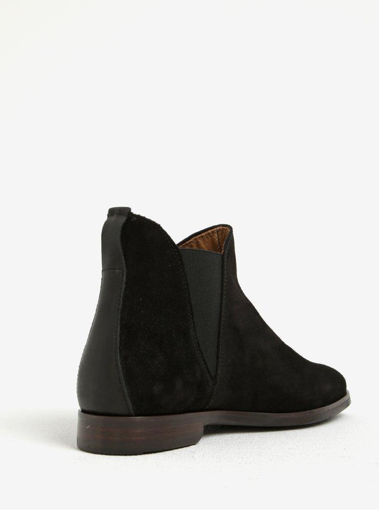 Černé dámské semišové chelsea boty GANT Nicole