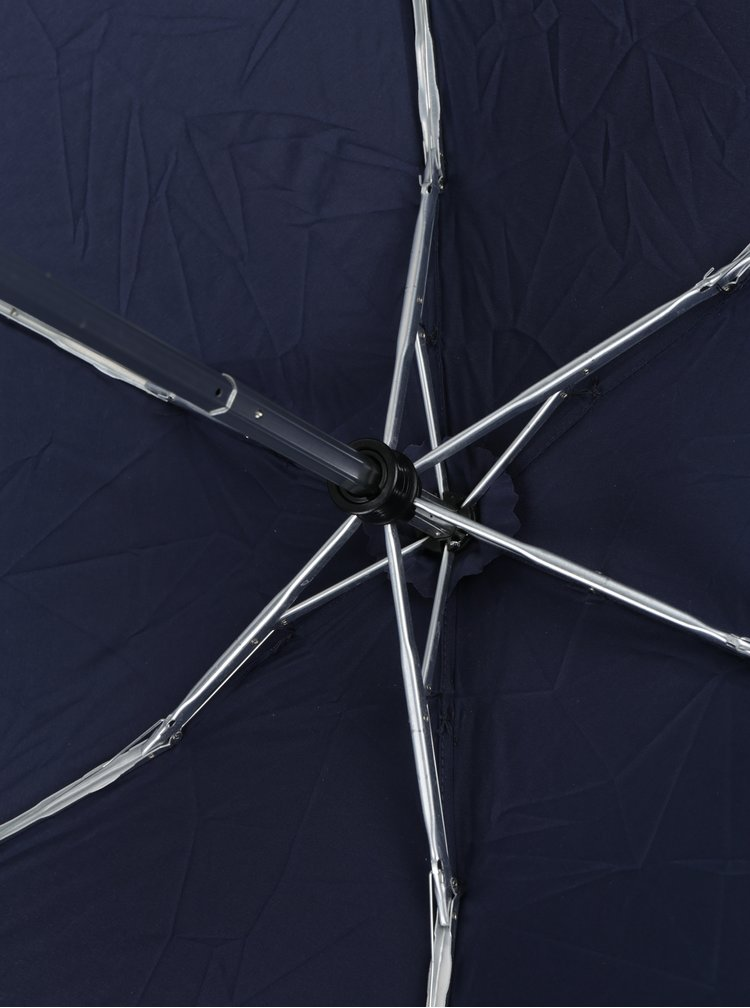Umbrela telescopica bleumarin pentru femei - Esprit