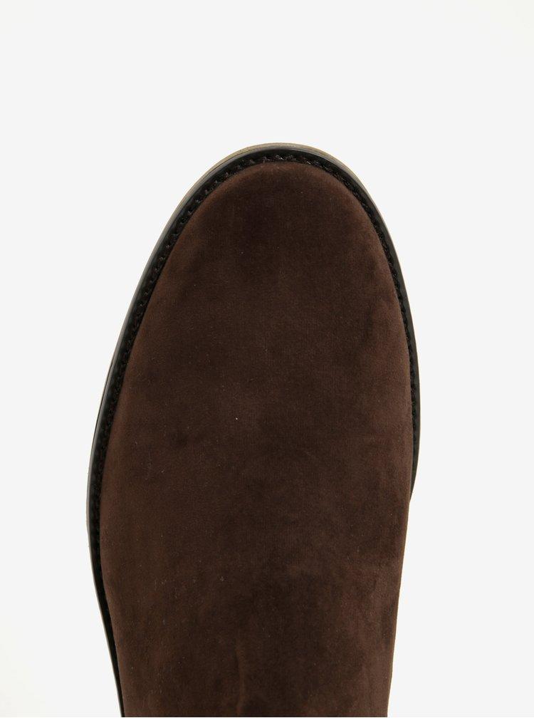 Hnědé chelsea boty Burton Menswear London