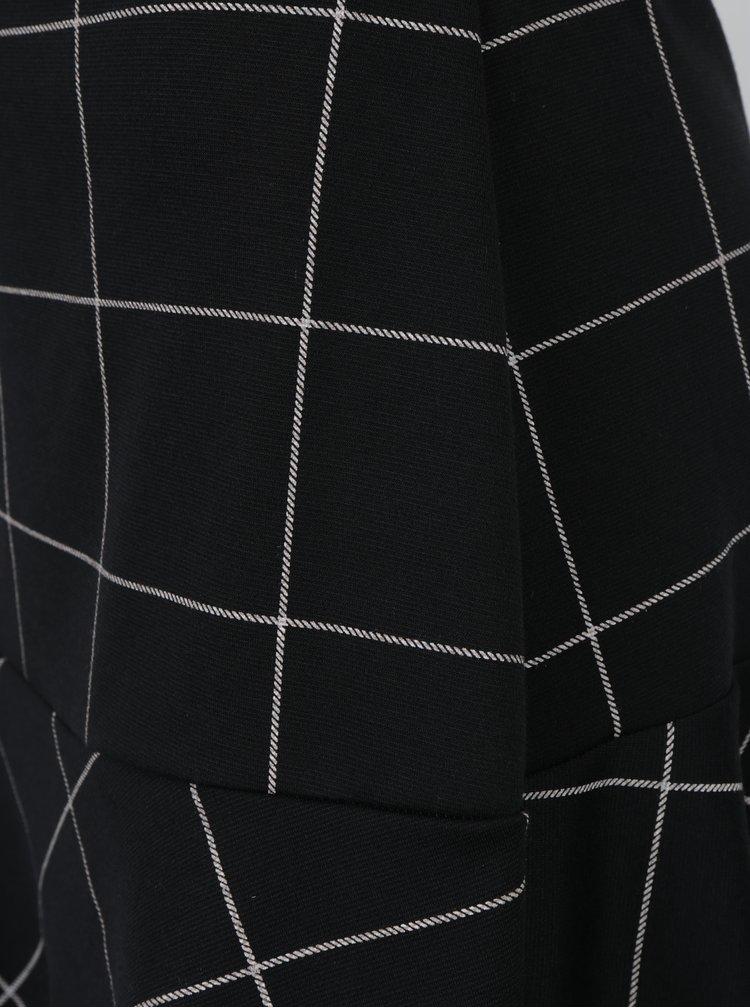 Černá áčková kostkovaná sukně Dorothy Perkins