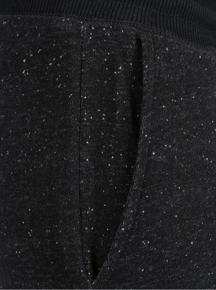 Tmavě šedé žíhané tepláky s kapsami ONLY & SONS Fiske