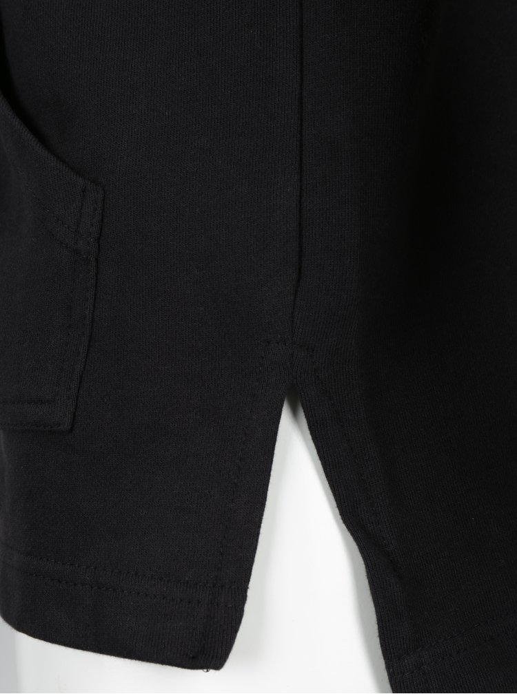 Hanorac asimetric negru cu fermoar ONLY & SONS Claus