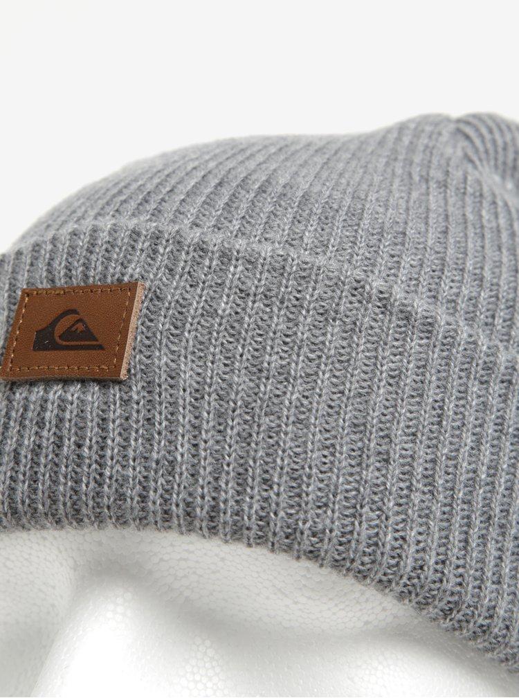 Caciula tricotata gri deschis Quiksilver