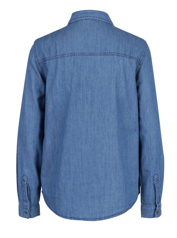 Modrá džínová košile Noisy May Kendall