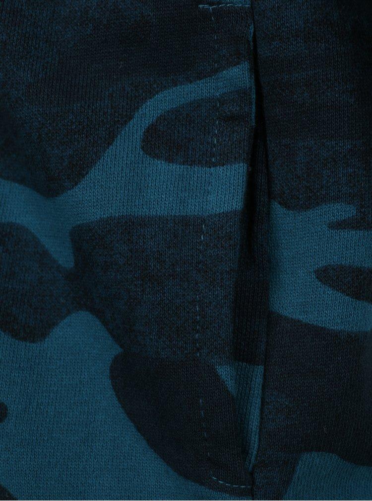 Modrá klučičí maskáčová mikina s kapucí Name it Jason