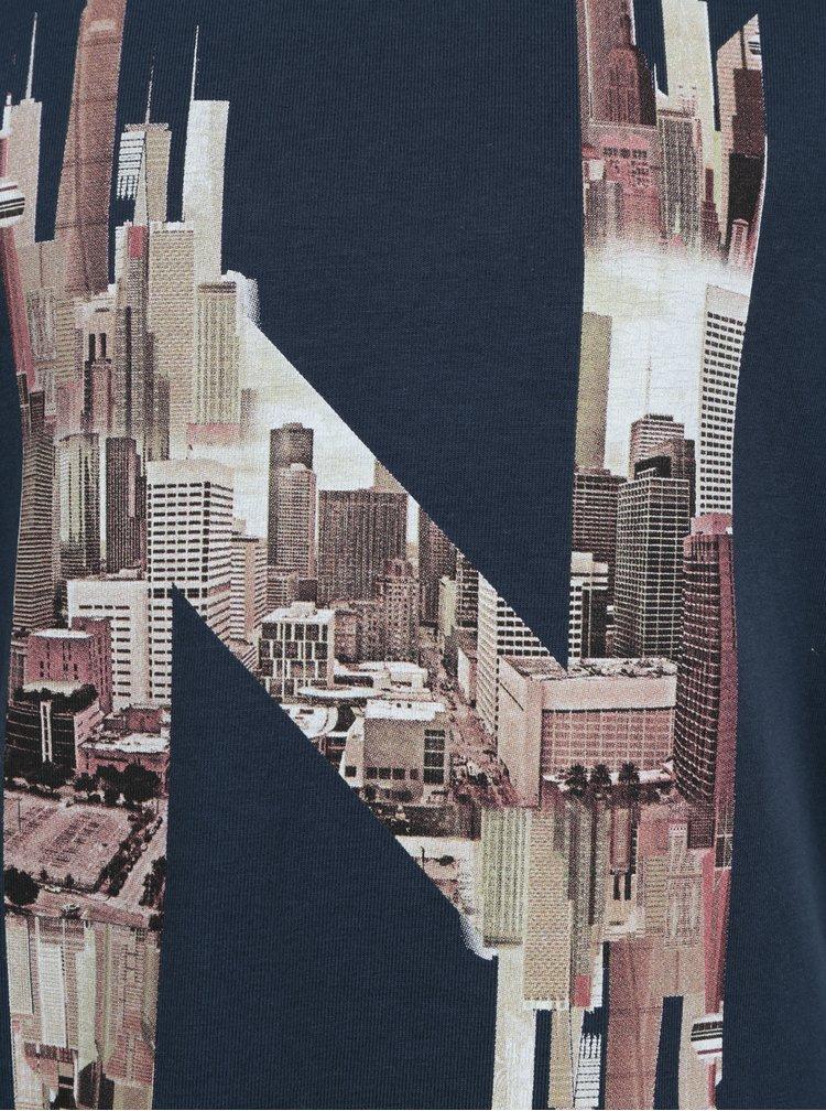 Tmavě modré klučičí tričko Name it Koru