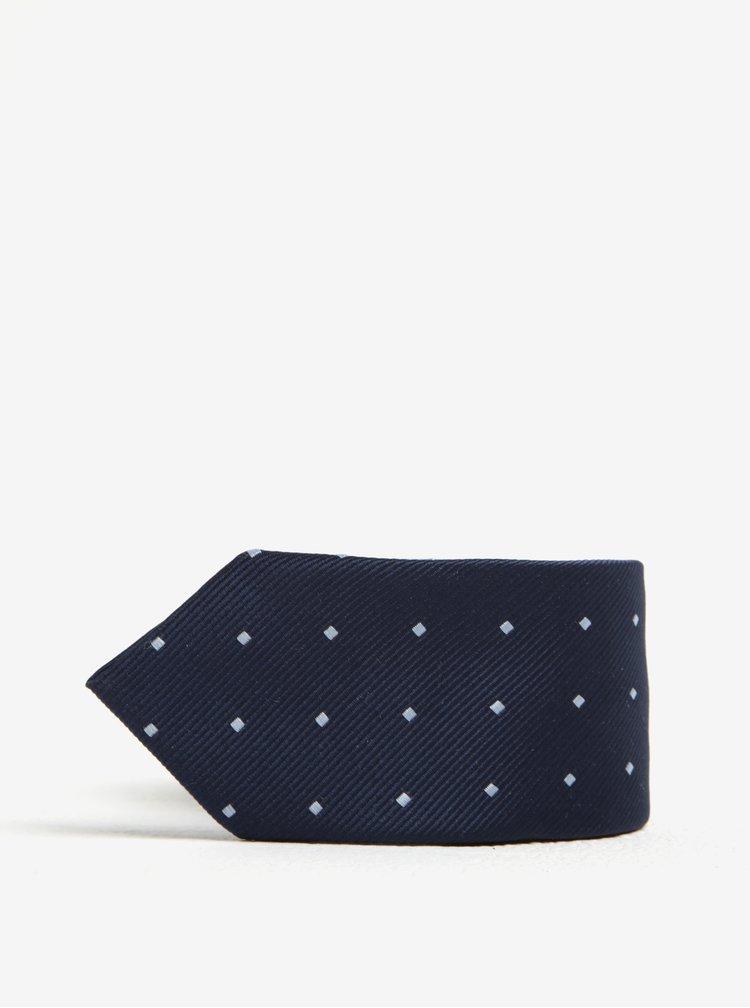 Modrá klučičí vzorovaná kravata Name it Pisp