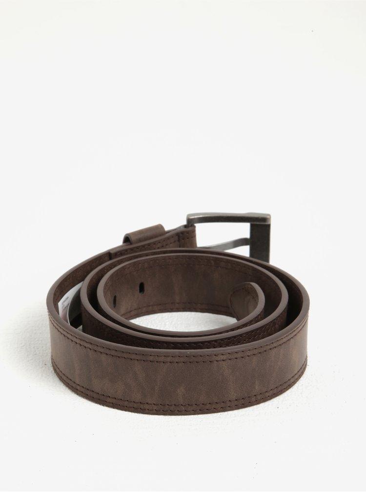 Hnědý pánský pásek Quiksilver