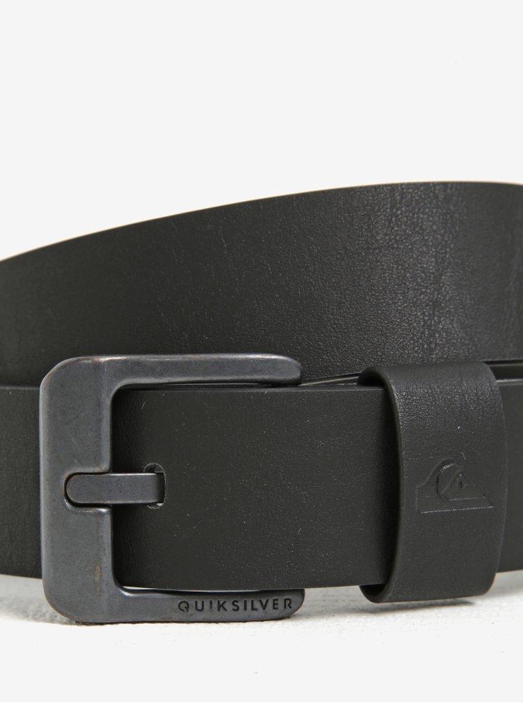Černý pánský pásek Quiksilver