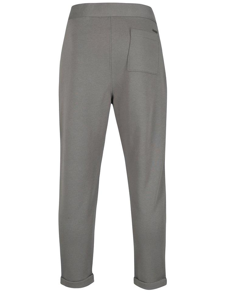 Šedé pánské kalhoty Calvin Klein Jeans Galf