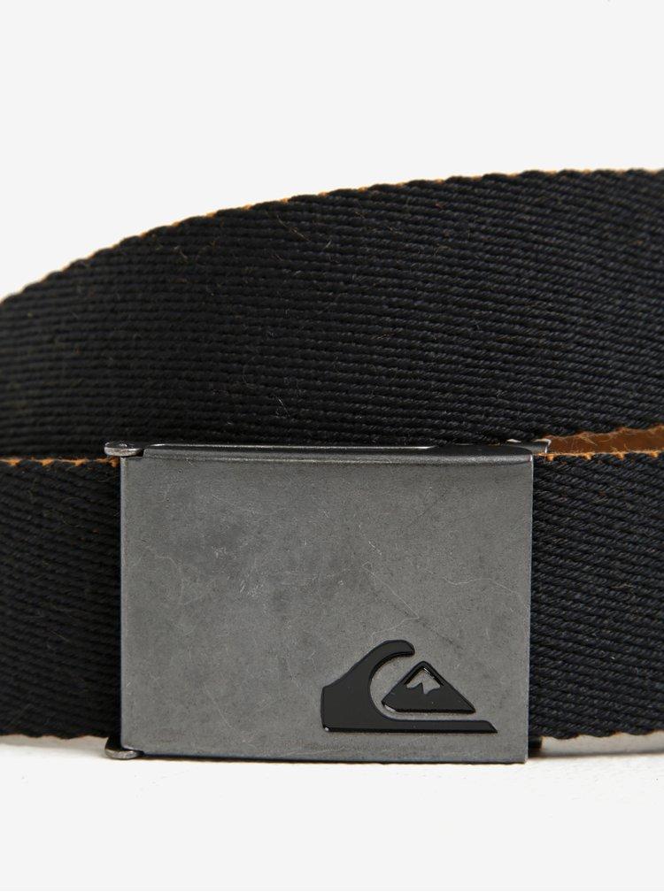 Curea neagra din textil Quiksilver