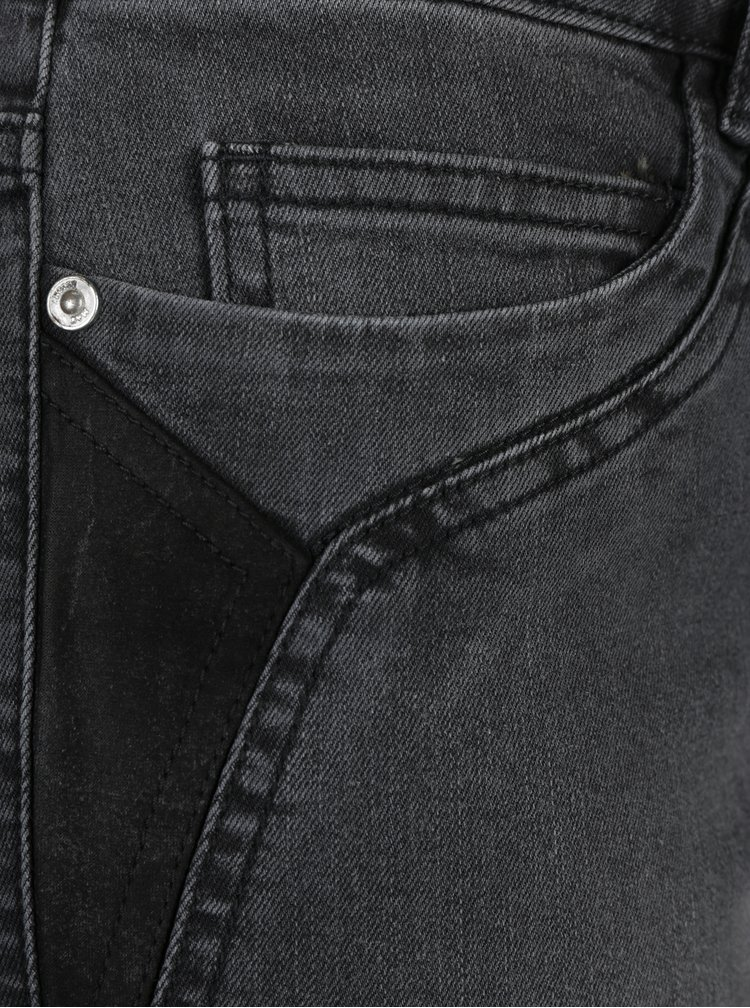 Tmavě šedé džíny Noisy May Lucy