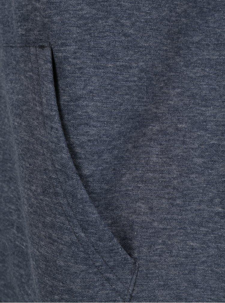 Hanorac albastru inchis cu fermoar Quiksilver