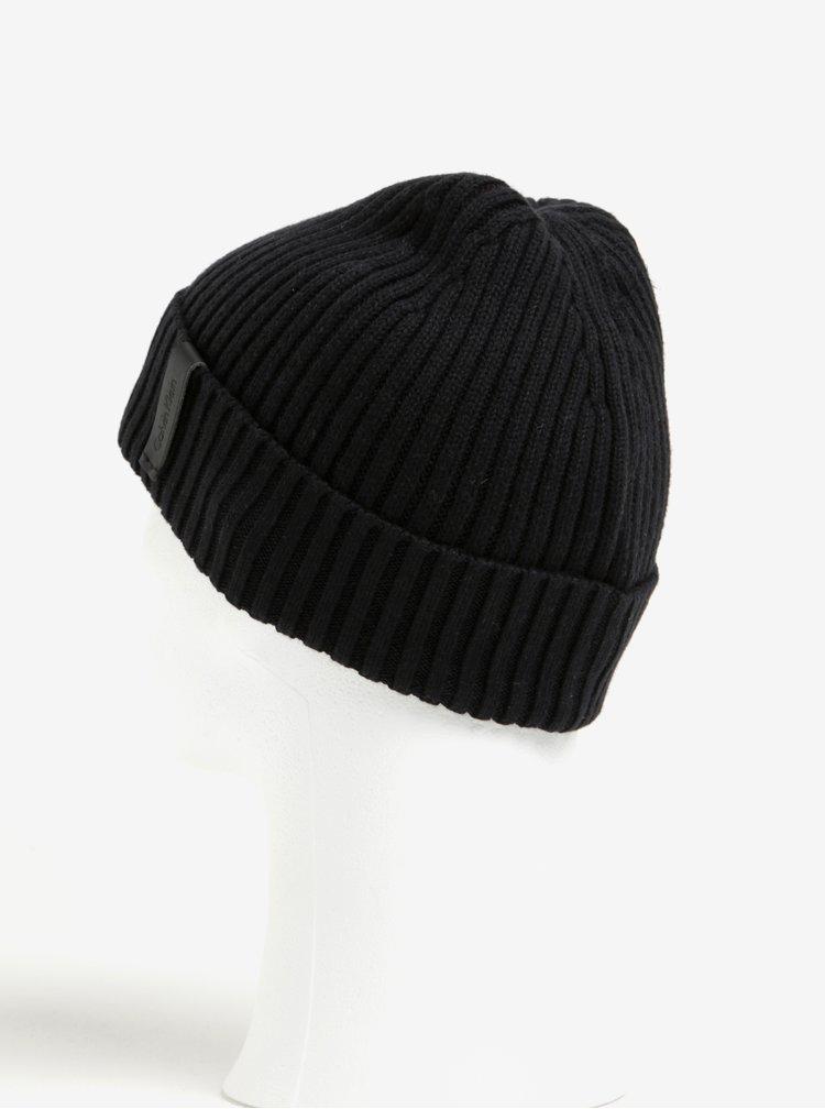 Černá pánská čepice Calvin Klein Jeans Octave